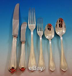 Spatours by Christofle France Silverplate Flatware Set 12 Service 75 pcs Dinner