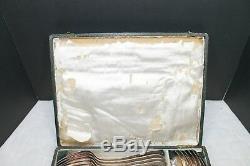 St Medard Saint Graal France 6 Piece Silver Plate Silverware Set W Box See Pics