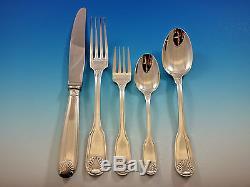 Vendome by Christofle France Silverplate Flatware Set Service 62 pieces
