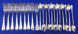 Victoria Silver Plate Silverware Set 65 Dinner Knives Forks Ice Tea Spoons MORE