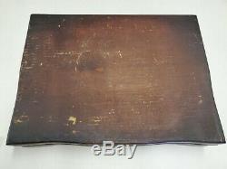 Vintage 1953 WM. Rogers Jubilee Silver Plate Flatware, 8 piece serving set
