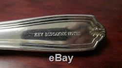 Vintage International Silver Flatware Set 63 Pc Silverplate KEY BISCAYNE HOTEL