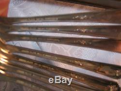 Vintage Oneida Tudar Silver Plate Community Flatware Set