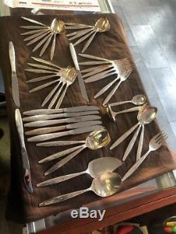 Vintage Set Of 49 Oneida Community Silver Plated Silverware Set