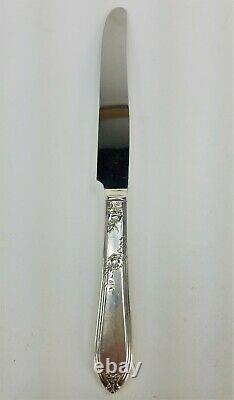 WM Rogers A1 IS By International Silver 1919 Rosemary Silverplate 12 Settings