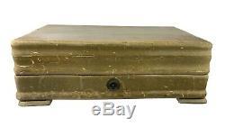 WM Rogers IS Silverplate Silverware Flatware ca 1940 74 Pc Set in Wood Box